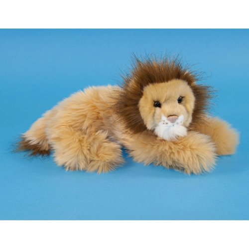 Dowman Lying Lion Soft Toy 25cm