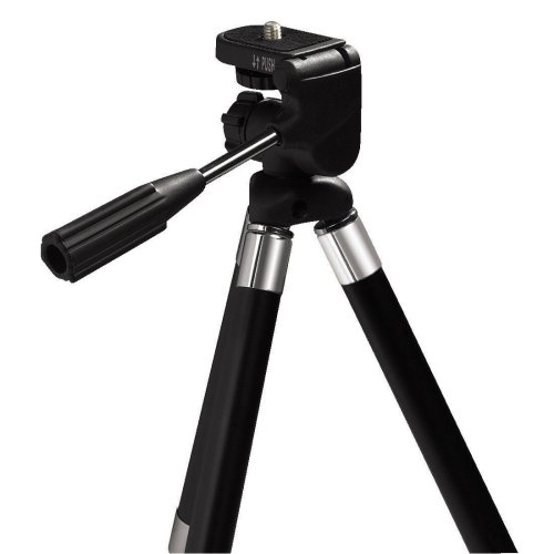 Hama Traveller Compact Tripod - Lightweight Sturdy Tripod with 3D Tilt Head