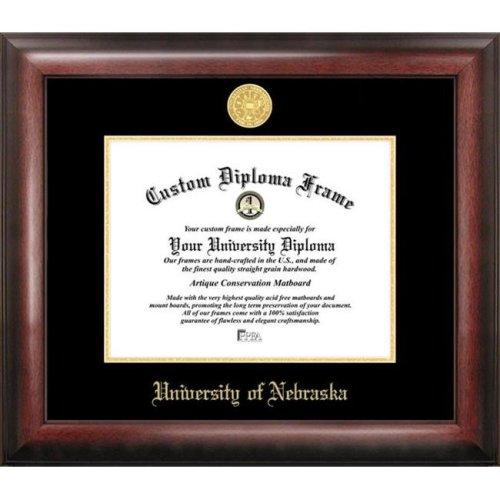University of Nebraska Gold Embossed Diploma Frame