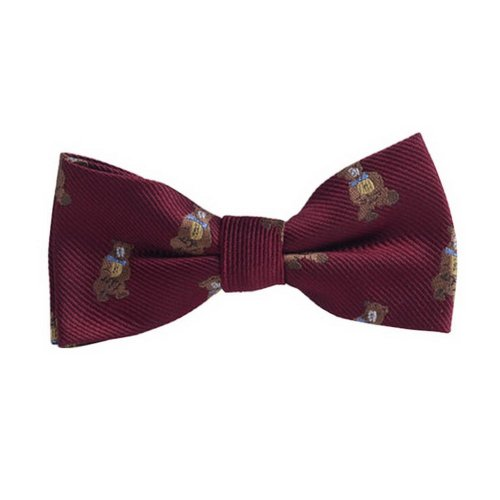 Fashion Designed Adjustable Neck Bowtie Boys Bow Tie [Cute Animal, B]