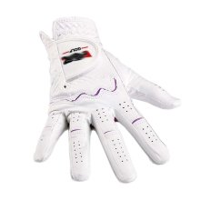 Summer Sun-proof Golf Gloves Women Protection Non-slip,White&Purple(#19)