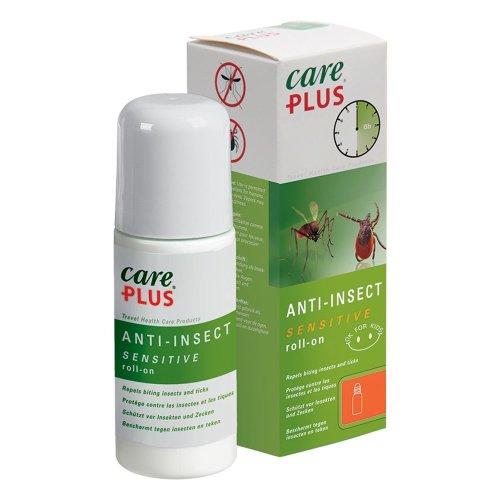 Care Plus 32452 Sensititve 20% Saltidin Anti Insect & Mosquito Repellent Roll On 50ml