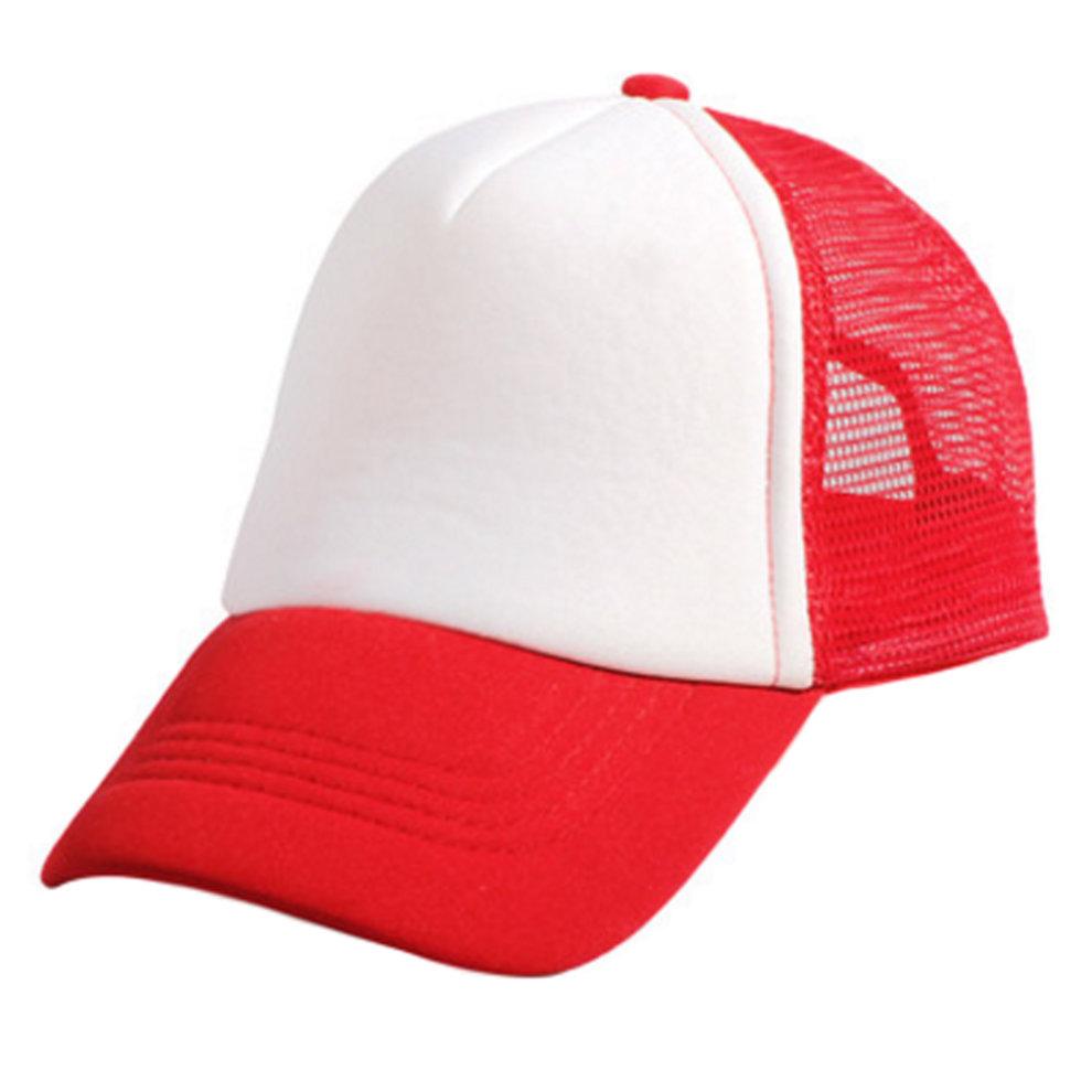 Children s Baseball Cap Fitted Hat Sports Hats Mesh Back Cap 571ff834f8ab