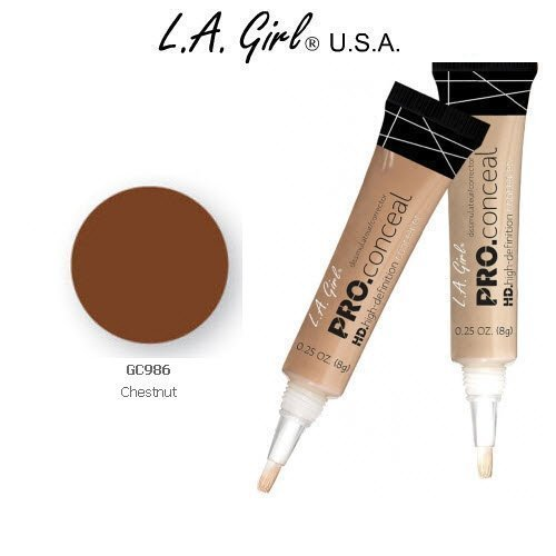 L.A. Girl Pro Conceal HD 986 Chestnut (2 Pack)