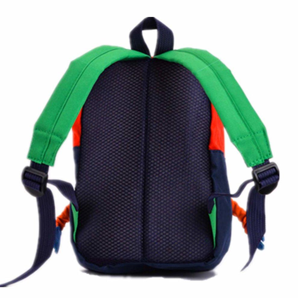 a5f7783a148c TeMan Children Backpack Kindergarten Cartoon Schoolbag for Kids Robot  Backpack Blue