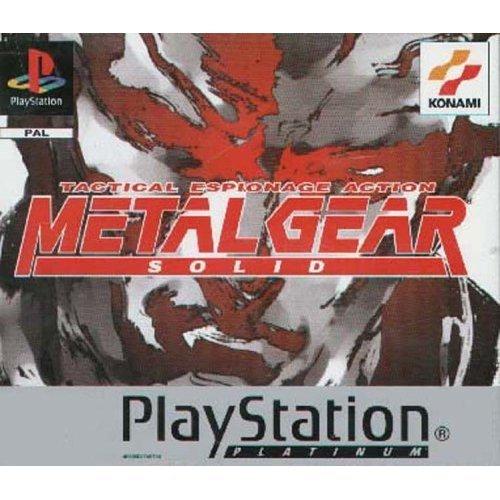 Sony Playstation - Metal Gear Solid - Platinum