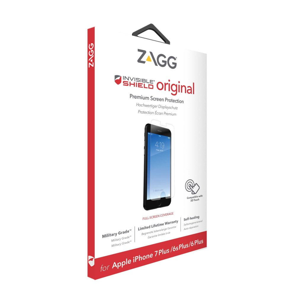 low priced a6f02 92173 ZAGG invisibleSHIELD Screen Protector Wet Apple iPhone 7 Plus I7LOWS ...