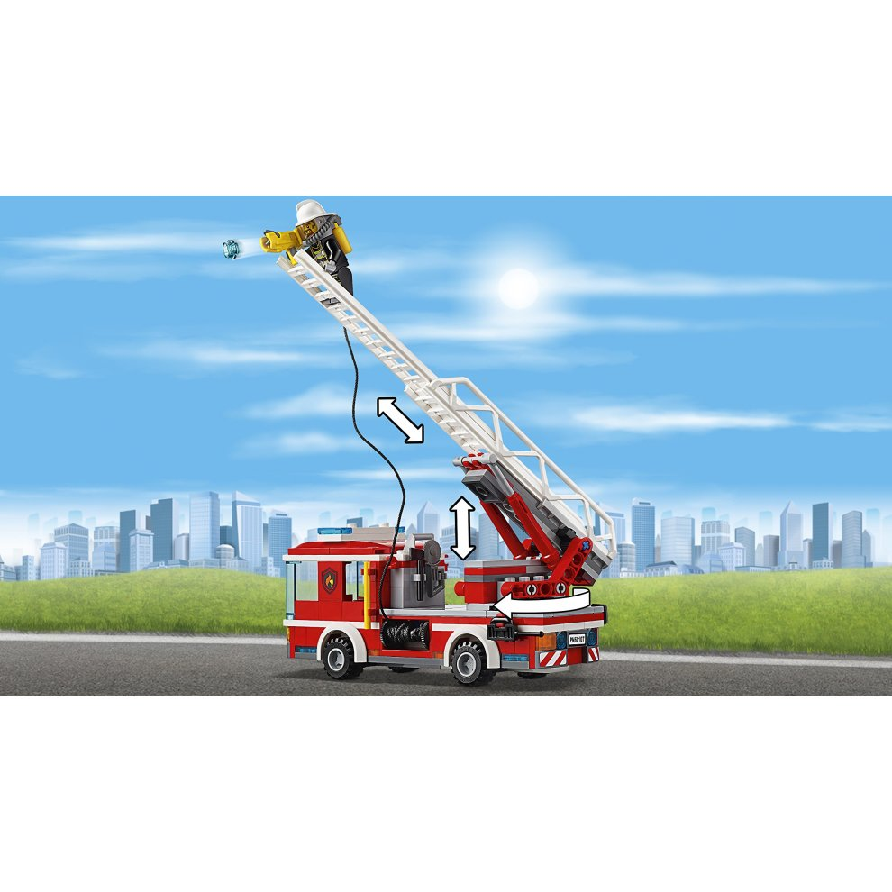 Lego 60107 City Fire Ladder Truck On Onbuy