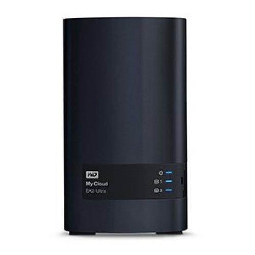 Western Digital My Cloud EX2 Ultra 8TB NAS Ethernet LAN Black