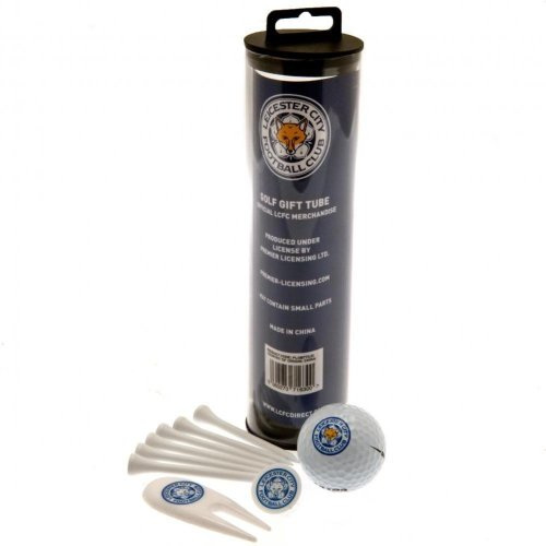 Leicester City FC Golf Gift Tube