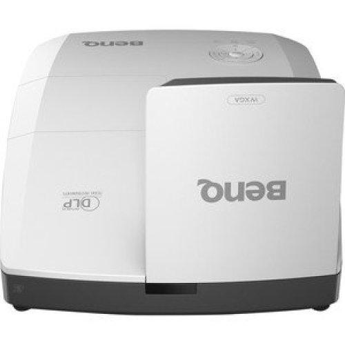 Benq Mw855Ust+ 3D Ready Ultra Short Throw Dlp Projector 720P Hdtv 16:10 Fro 9H.JKS77.24E