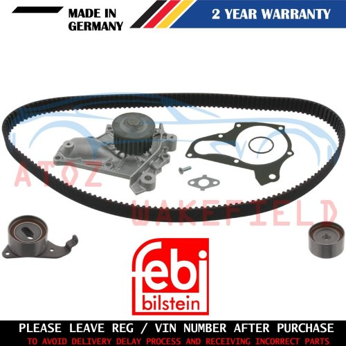 FOR TOYOTA AVENSIS 2.0 TIMING CAM BELT WATER PUMP KIT FEBI GERMANY 1997-2000