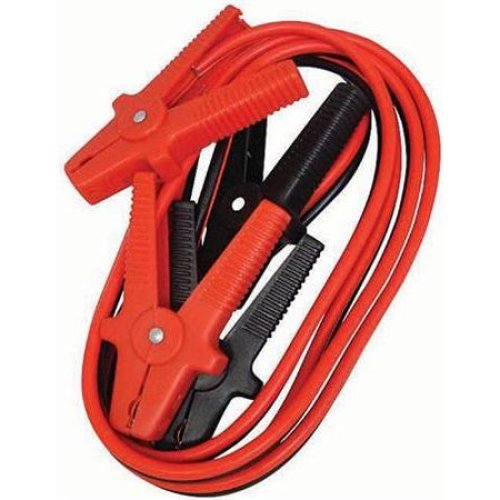 8' Jump Lead With Heavy Duty Clamps - Leads 8 Blackspur Long Booster Car -  jump heavy duty leads clamps 8 blackspur long booster car bbjl100 24m
