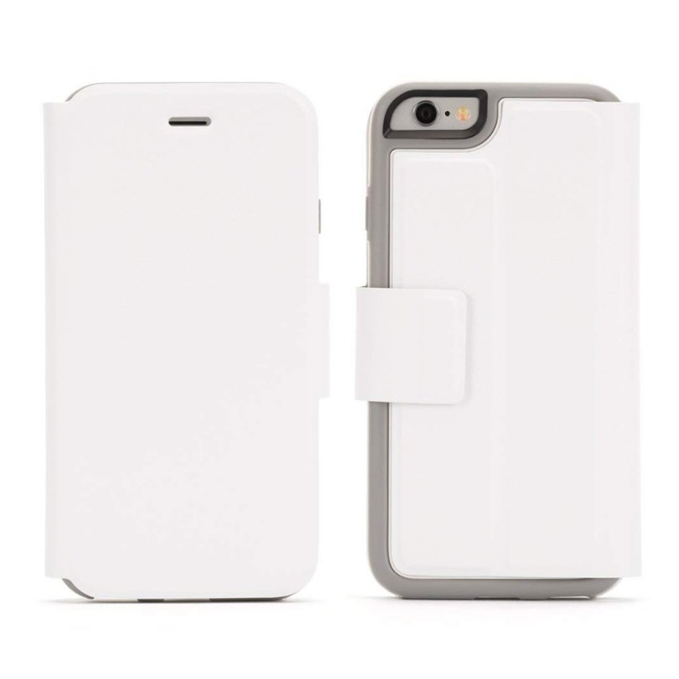 competitive price 3130d 8bb4b White Flip Cover for iPhone 6, 6S Identity Wallet Case by Griffin