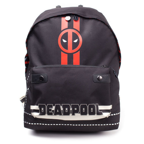 MARVEL COMICS Deadpool Icon Print Solid Backpack, Multi-colour (BP510767DED)