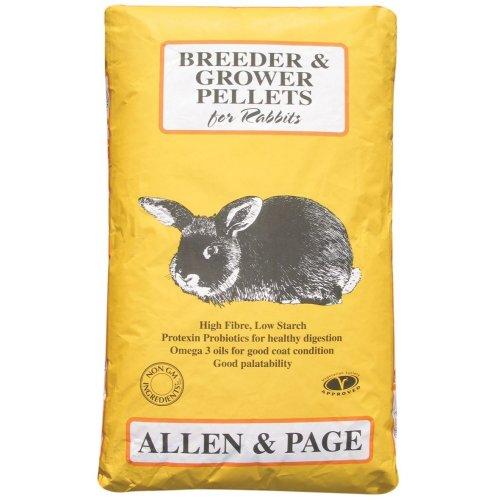 Allen & Page Rabbit Breeder Grower Pellets, 20 kg