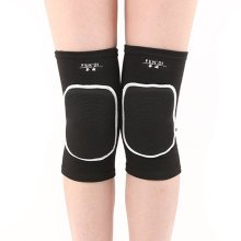 Knee Brace Sleeve for Sports, Yoga, Dance, Arthritis, Joint Pain, Black(L)