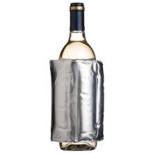 Silver Wrap Around Wine Cooler