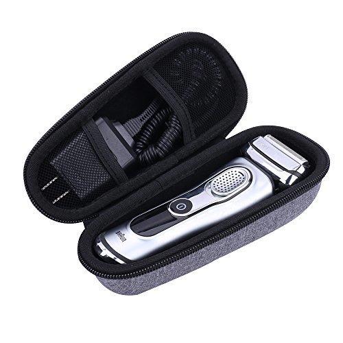 SemiHard Organizer Travel Case for Braun Series 7 790cc7865cc Mens Electric Foil Shaver by Aenllosi (Gray)