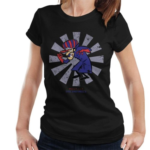 Dick Dastardly Retro Japanese Women's T-Shirt