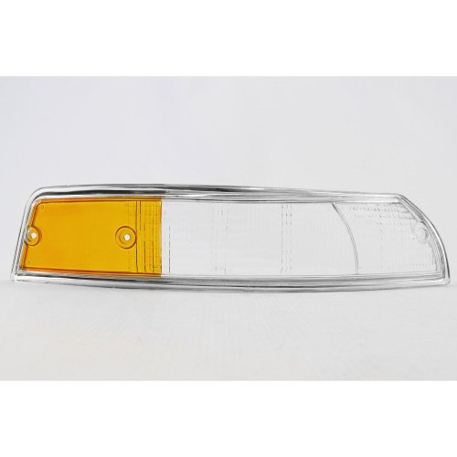 Front indicator lens right chrome rim Porsche 911 67-74