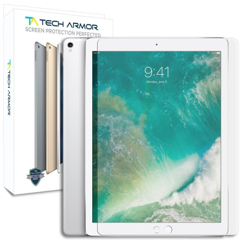 "Tech Armor - Ballistic Glass Screen Protectors iPad Pro (12.9"") - Clear [1-Pack]"