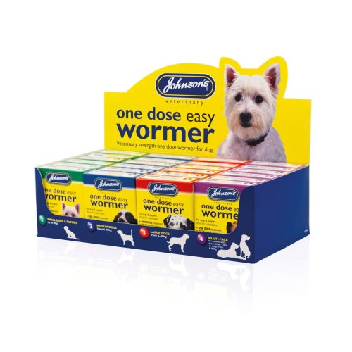 Jvp Dog Easy Dose Wormer Filled Counter Tray