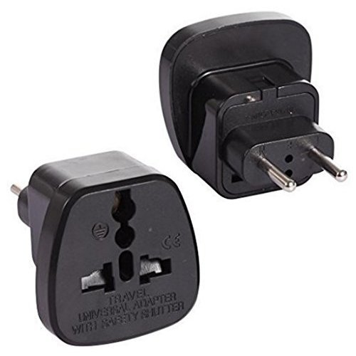 Israel Adaptor Plug by aPlug. Pack of 2. Super Reliable, Powerful, Lightweight. UK to Israel Plug Adaptor. Israel Plug Adaptor.