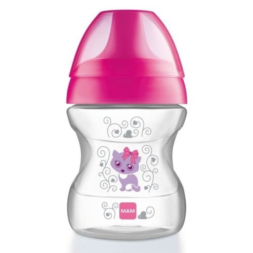 MAM Learn To Drink Cup 190ml 6+ Months Pink