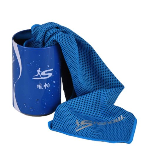 Cold Quick-drying Towel Lightweight Travel Towel Cool Sports Towels With Can, #05
