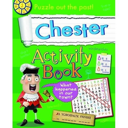 Chester Activity Book (Hometown History Activity)