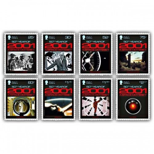 2001: A Space Odyssey Stamp Set (Mint)
