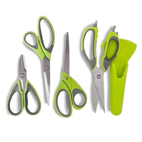 Tower T80442 Health Set of 4 Scissors