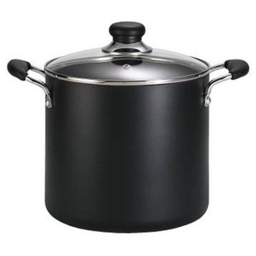Tefal A9228064 12 Quart Stock Pot - Black