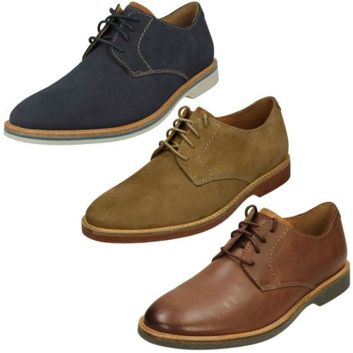 Mens Clarks Casual Lace Up Shoe Atticus Lace - G Fit