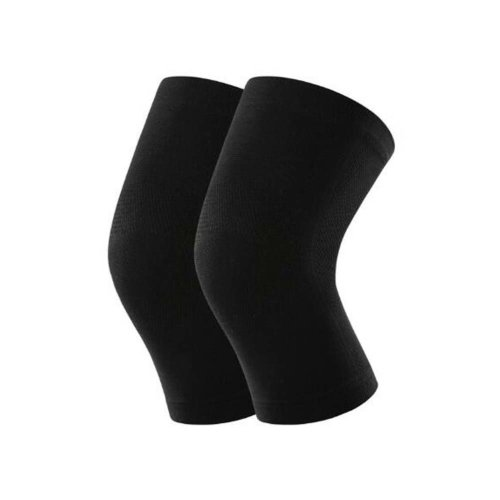 Unisex Knee Brace Pads Knee Warmers Sleeve Keep Your Knee Warm-Black