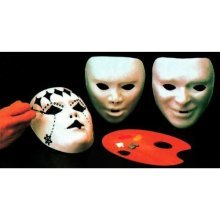 Mask Paintable White Plastic Party Masks Eyemasks & Disguises For Masquerade