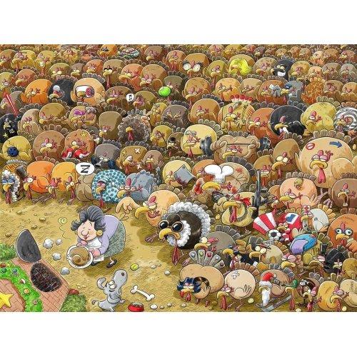 Halloween Ambler 2017 Cartoon Collection 1000 Piece Jigsaw Puzzle