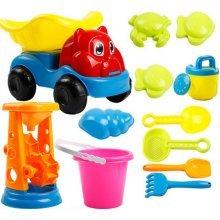 Kid's Beach Sand Toys Baths Pools Set 12PCS