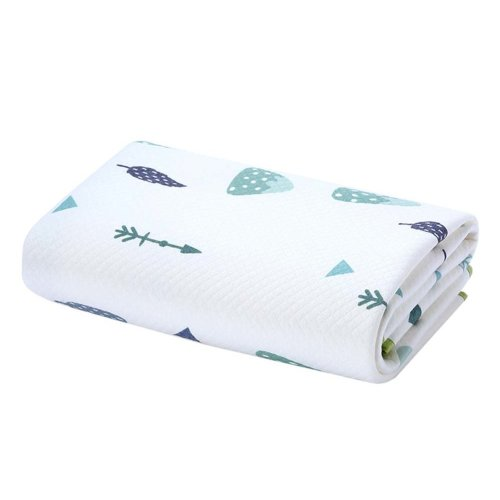 Portable Waterproof Baby Diaper Changing Pads Diaper Liners 2 pieces, 40x50cm, NO.002