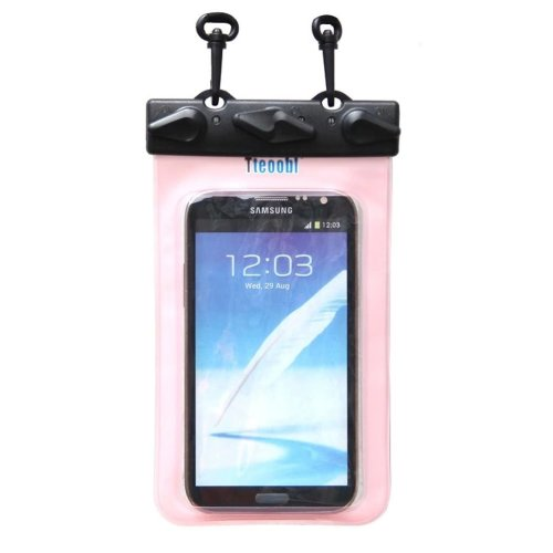 """6.7""""*4.1""""PINK Waterproof Underwater Swimming Diving Dry Bag Pouch"""