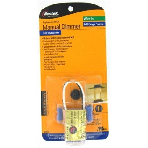 American Tack 200 Watt Manual Dimmer Replacement Kit  6077B