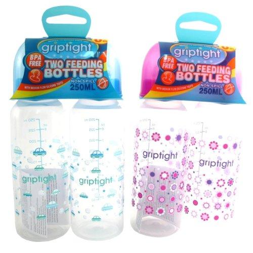 Griptight - Std Neck Baby Feeding Bottle - 250ml