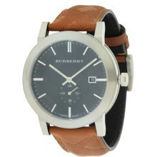 Burberry The City Leather Mens Watch BU9905