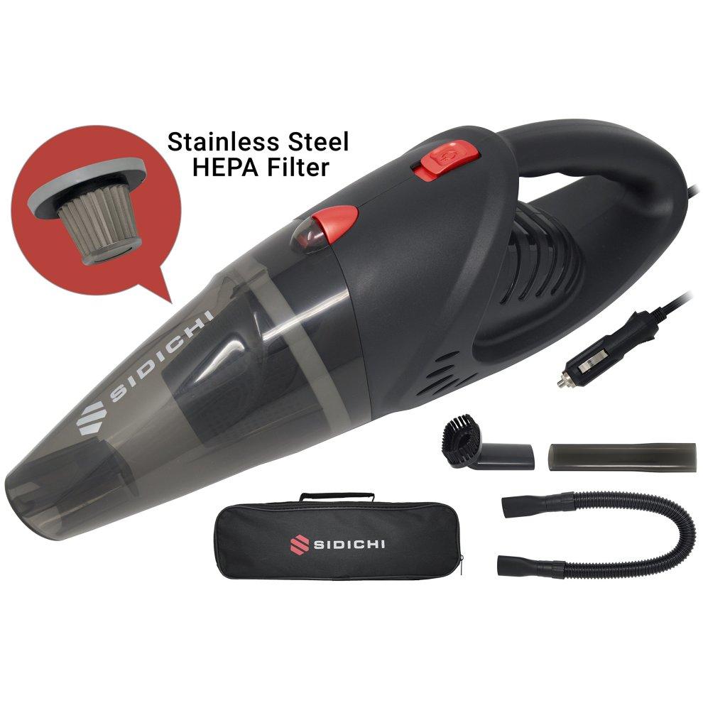 Sidichi Car Vacuum Cleaner Electric 12v 120w Portable