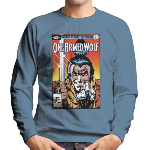 One Armed Wolf Comic Sekiro Men's Sweatshirt