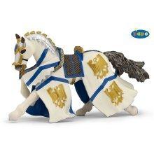 Papo Knight William Horse Figurine - 39336 -  knight william horse papo 39336