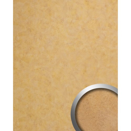 WallFace 19208 SILENT GOLD Decor Panel vintage design glossy gold 2.6 sqm