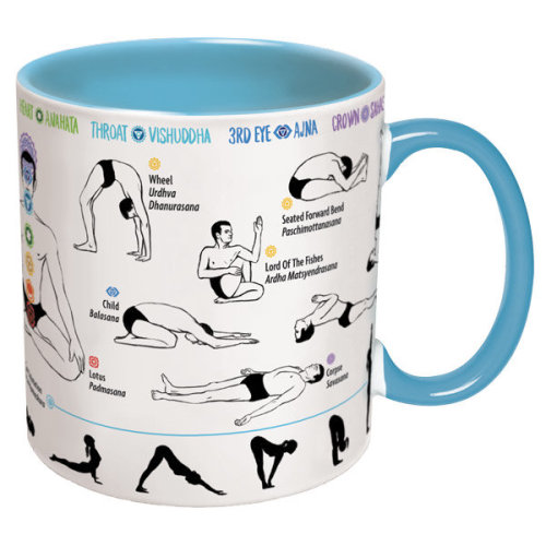 Mug - UPG - How To Yoga New Gifts Toys Licensed 3464