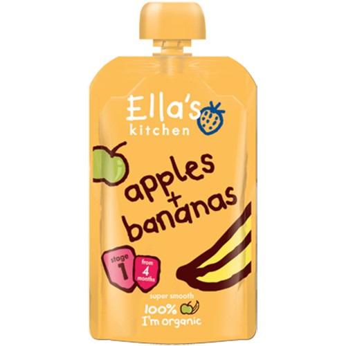 Ellas Kitchen Stage 1 Spinach  Apples & Swede 120g